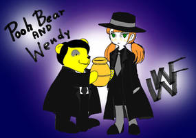 Pooh bear and Wendy