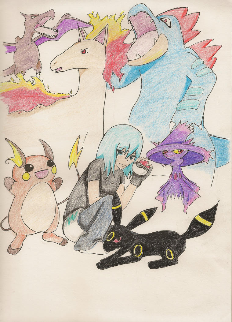 My Pokemon Team by not-sure-yet