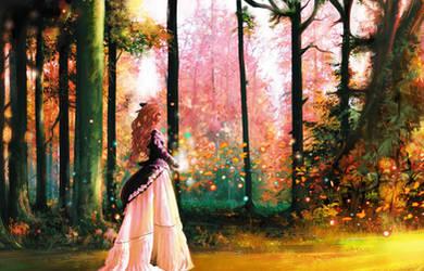 Autumn Lady by BGorilla