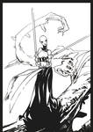 Asajj Ventress ink by BGorilla