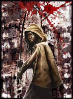 Walking Dead Michonne by BGorilla