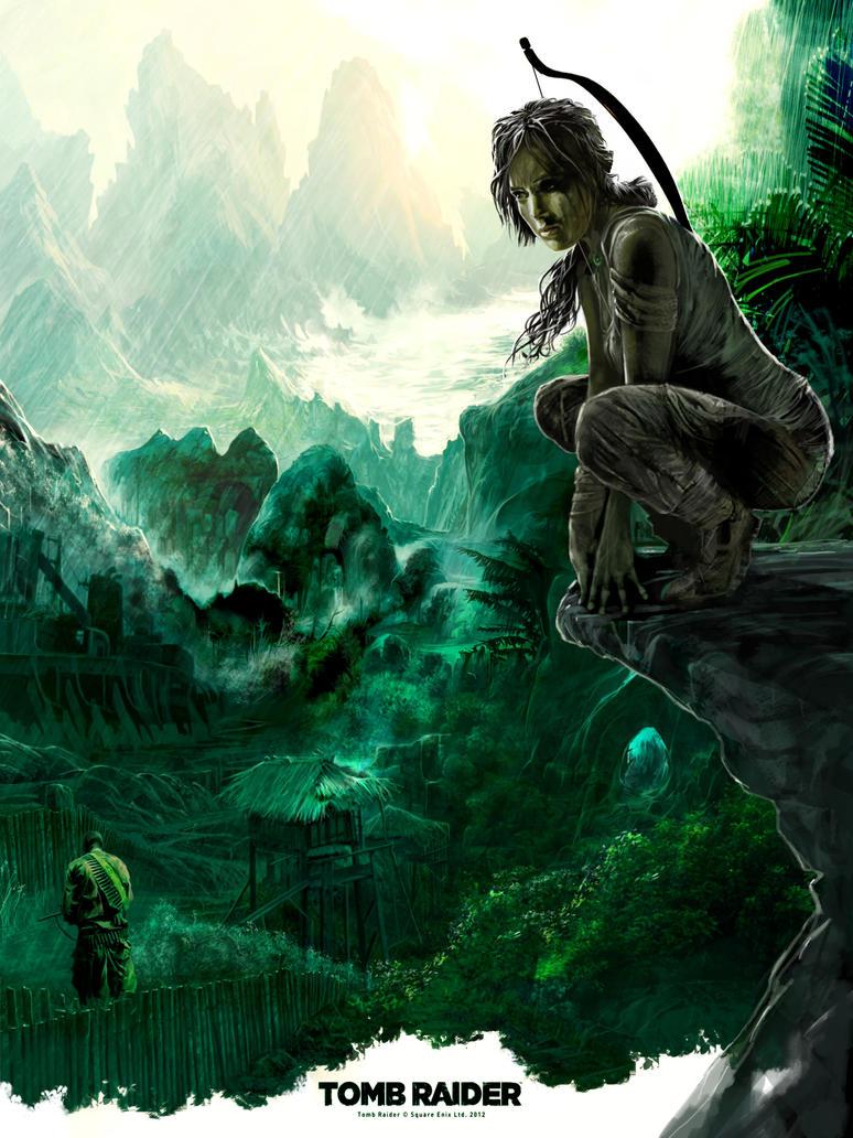 LARA : Hidden prey by BGorilla