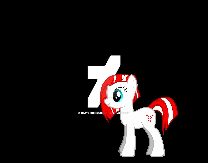 Minty Swirl Pony by SapphireBrush