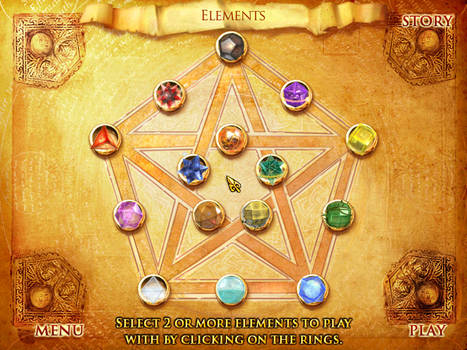 Elements game COMPLETE