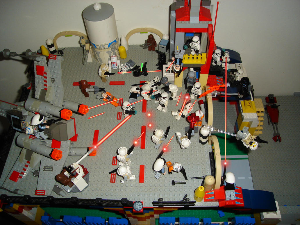 Lego star wars battlefront by taggerung1 on deviantart - Lego star wars 1 2 3 4 5 6 ...