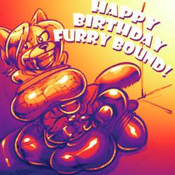 AbbyBirthdays: Furrybound Bait! by SaunterWing
