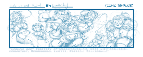 (WiP)AbbyCapers: Hook, Line, and Sinker! by SaunterWing