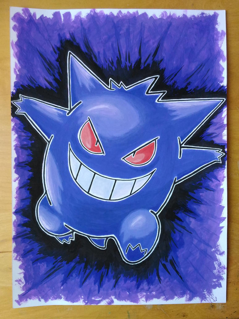 A wild Gengar appears