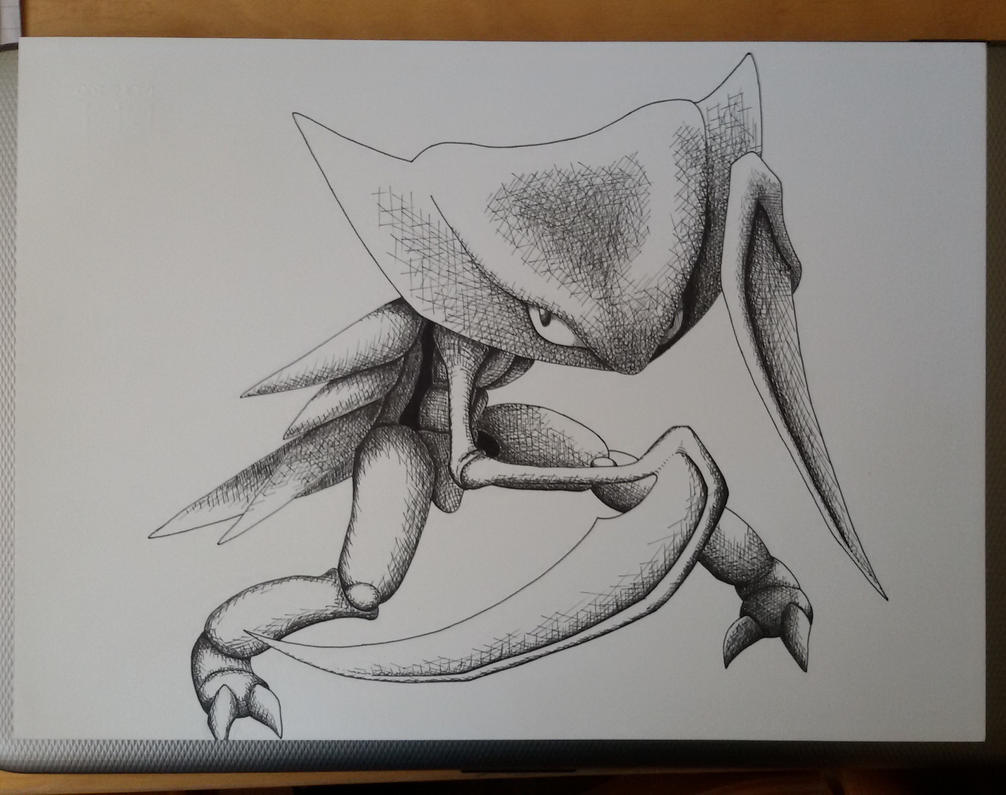 Professor's Oak skethces , File 001: Kabutops
