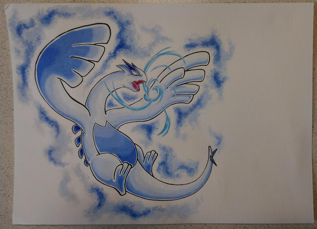 Lugia: Sea's guardian