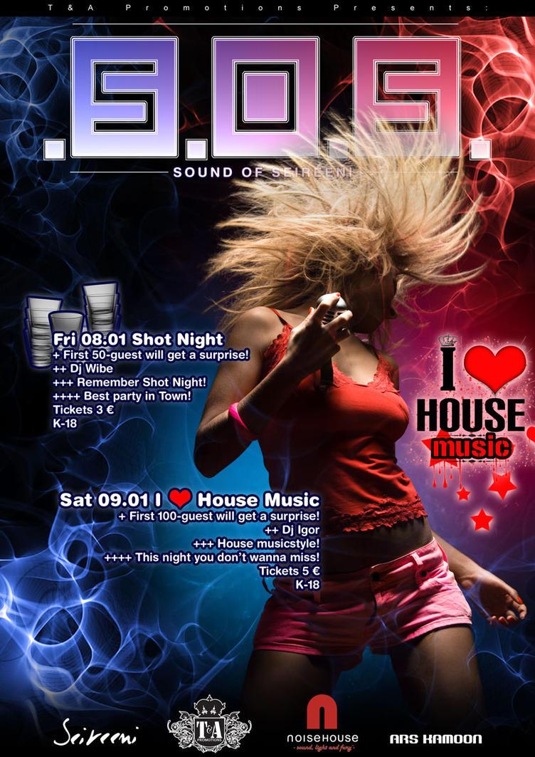 I love house music by silentsh0ut on deviantart for House music 2010