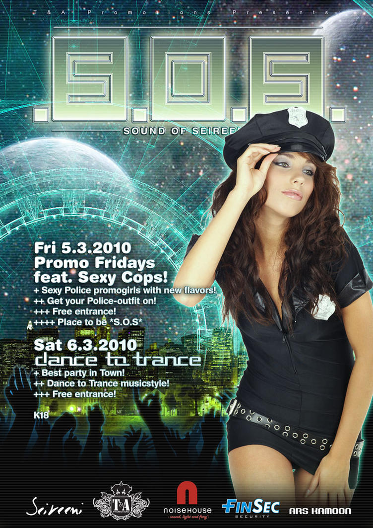 SOS Cop Trance by silentsh0ut