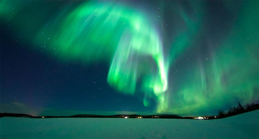 Aurora Borealis by silentsh0ut
