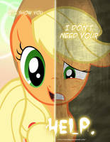 MLP - Two Sides of Applejack by TehJadeh