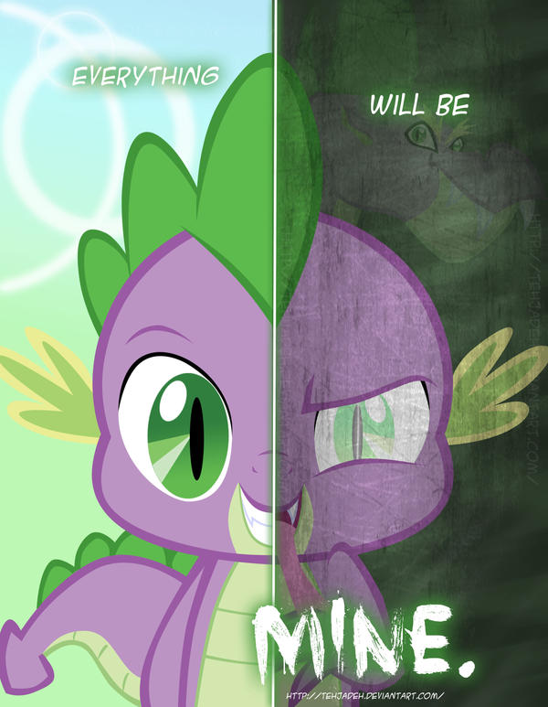Two sides of Spike by TehJadeh