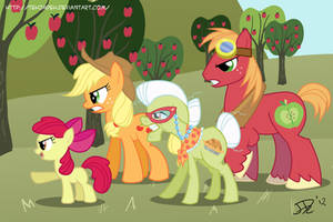 'Protect Sweet Apple Acres!' by TehJadeh