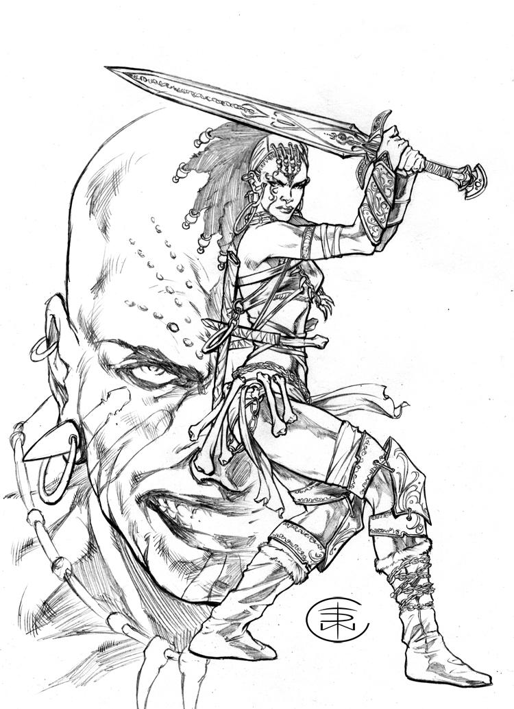 Heart Of A Warrior By Caananwhite On Deviantart
