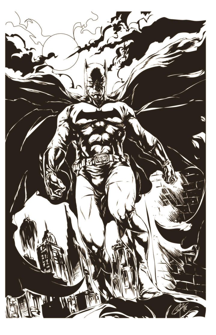 BATMAN by caananwhite