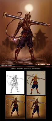 The Monkey King-design one