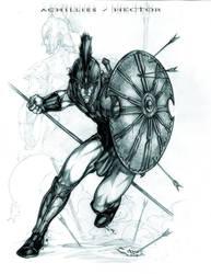 Achillies Hector by caananwhite