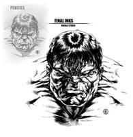 Hulk Inked by caananwhite