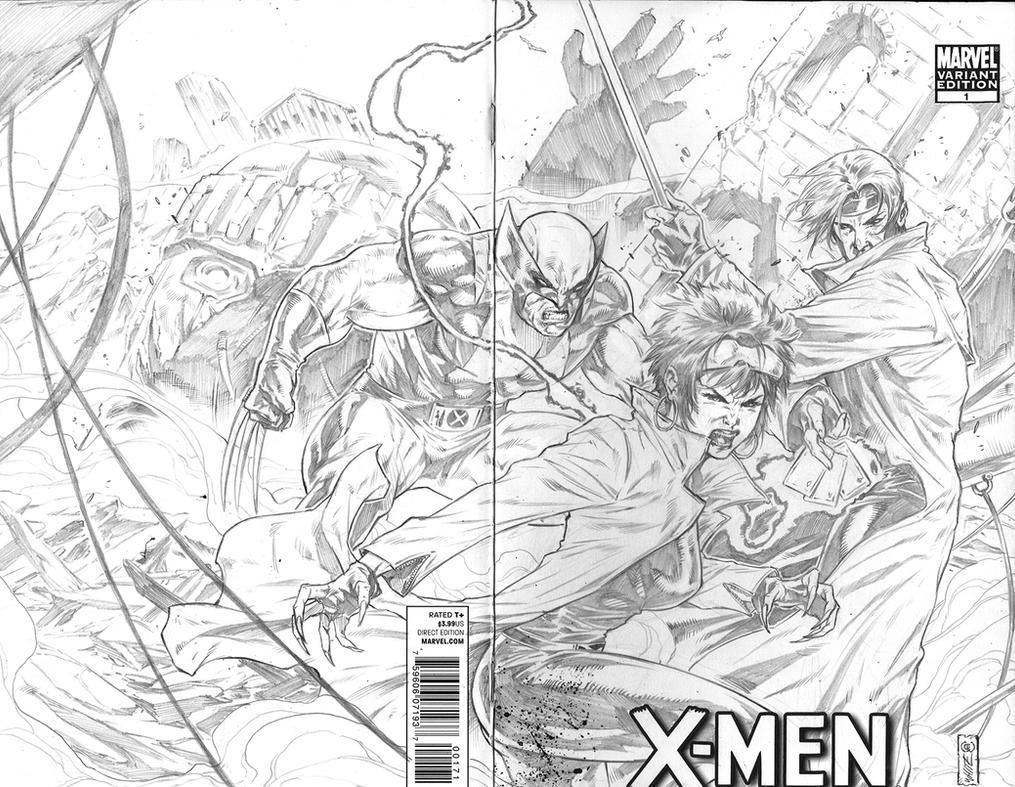 Jubilee Wolverine Gambit by caananwhite