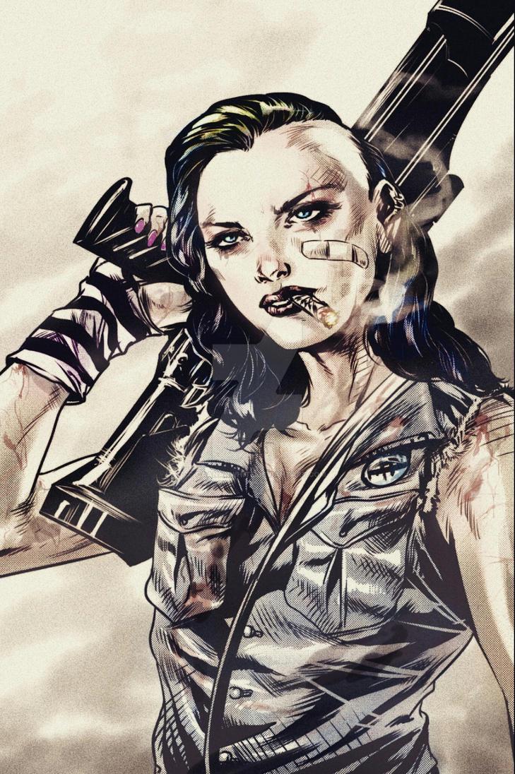 Tank Girl by caananwhite