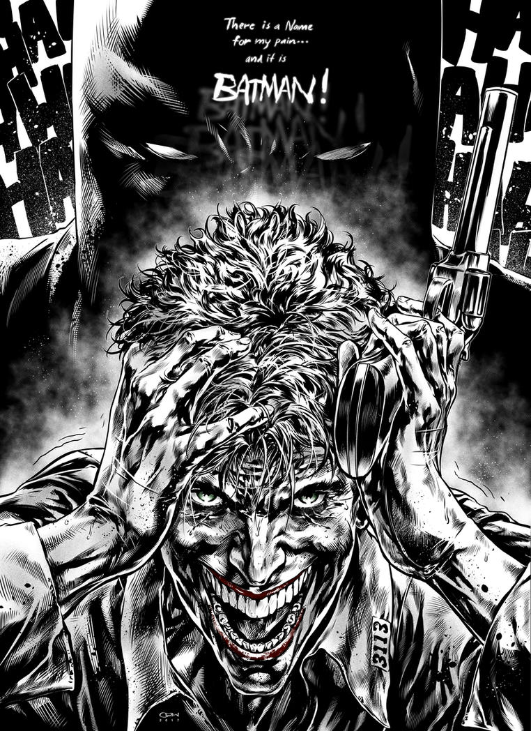 Joker's pain by caananwhite