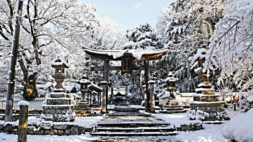 winter in japan by octavain on deviantart. Black Bedroom Furniture Sets. Home Design Ideas