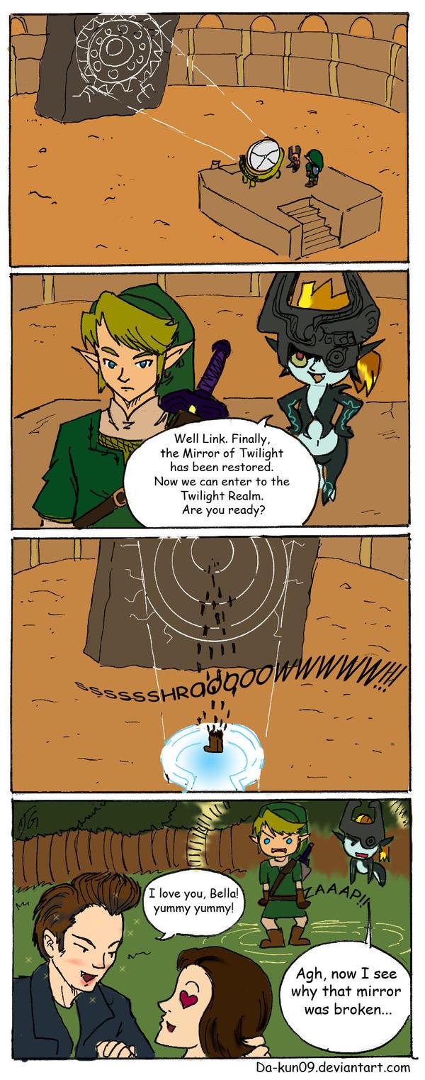 Zelda Comic: Not that twilight by DavidGongora