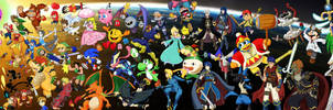 Super Smash Brothers, Forever and Ever by DakunArt