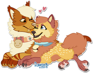 [C] Nio's Cutest Couple by Lycanark