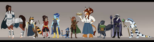 DnD Height Chart V1 by Lycanark