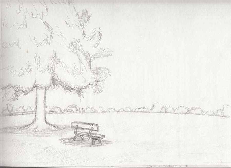 Landscape Drawings For Beginners Sketch 2 By Whimsy