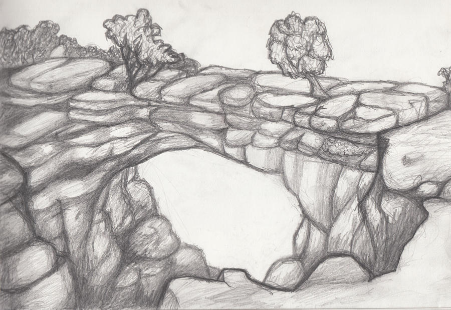 Art Sketches Landscapes Landscape Sketch 5 by