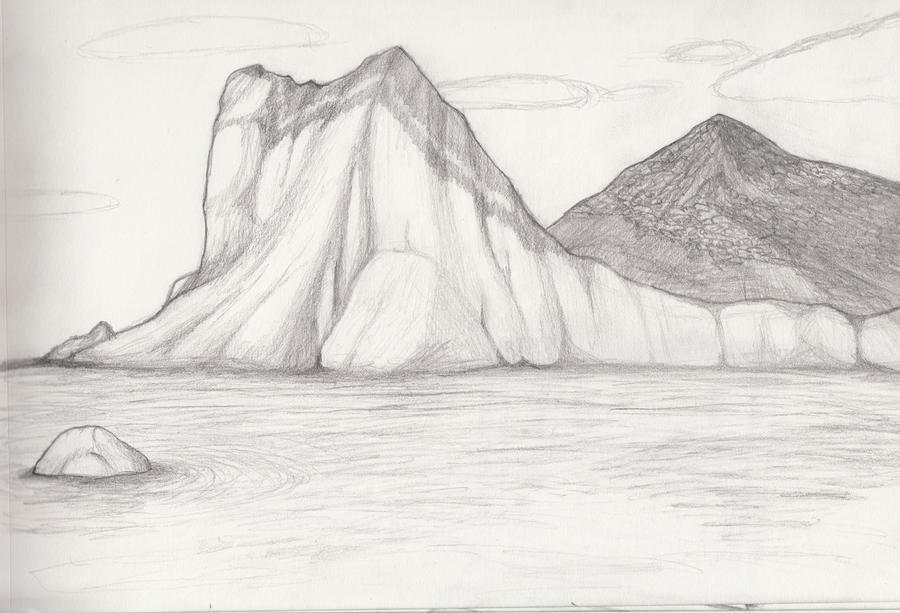 landscape sketch 11 by whimsy floof on deviantart