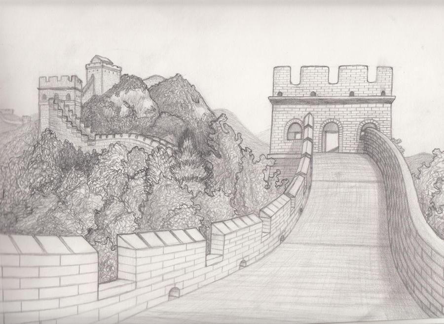 Art Sketches Landscapes Landscape Sketch 13 by