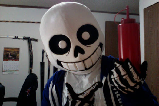 My Sans Cosplay