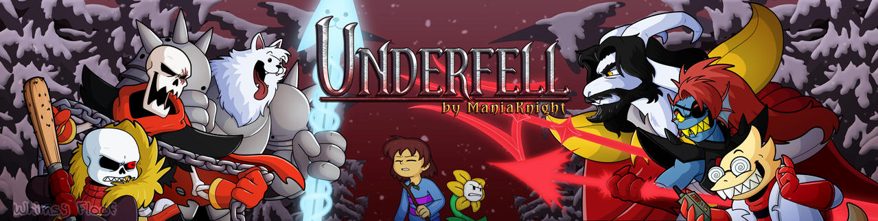 Underfell Fangame Banner