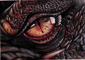 Dragon eye by Annaria17
