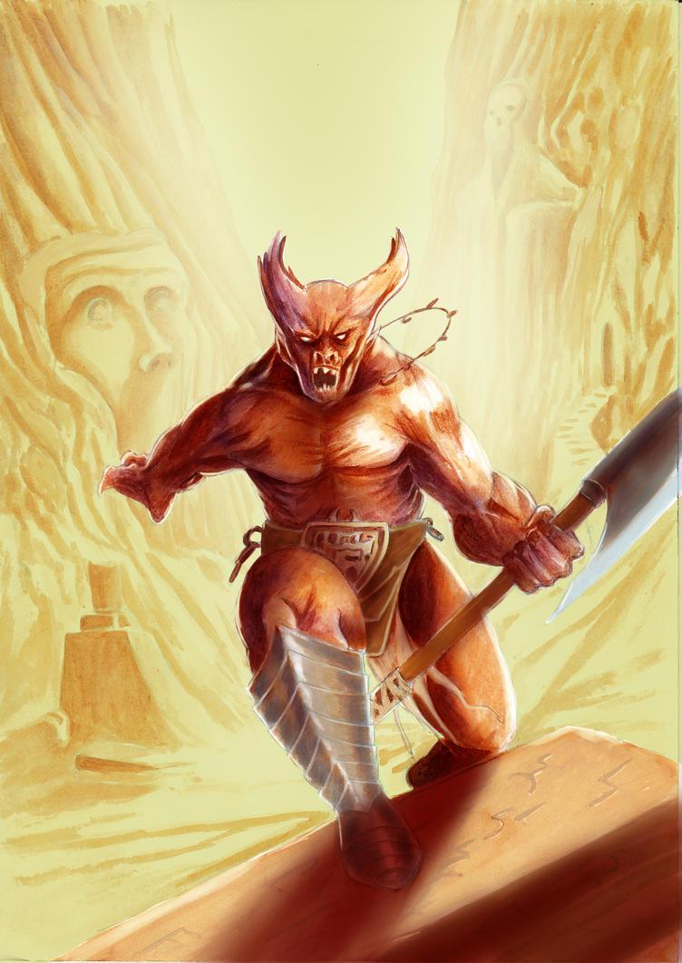 Demonskecth by fcarmo