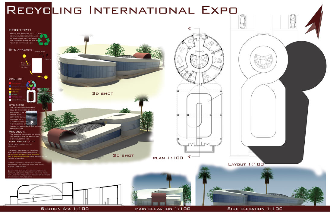 Architectural design exhbition by shadyonly on deviantart for Architectural concept board examples