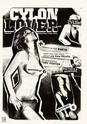 CYLON LOVER issue1 fanzin by cunaka