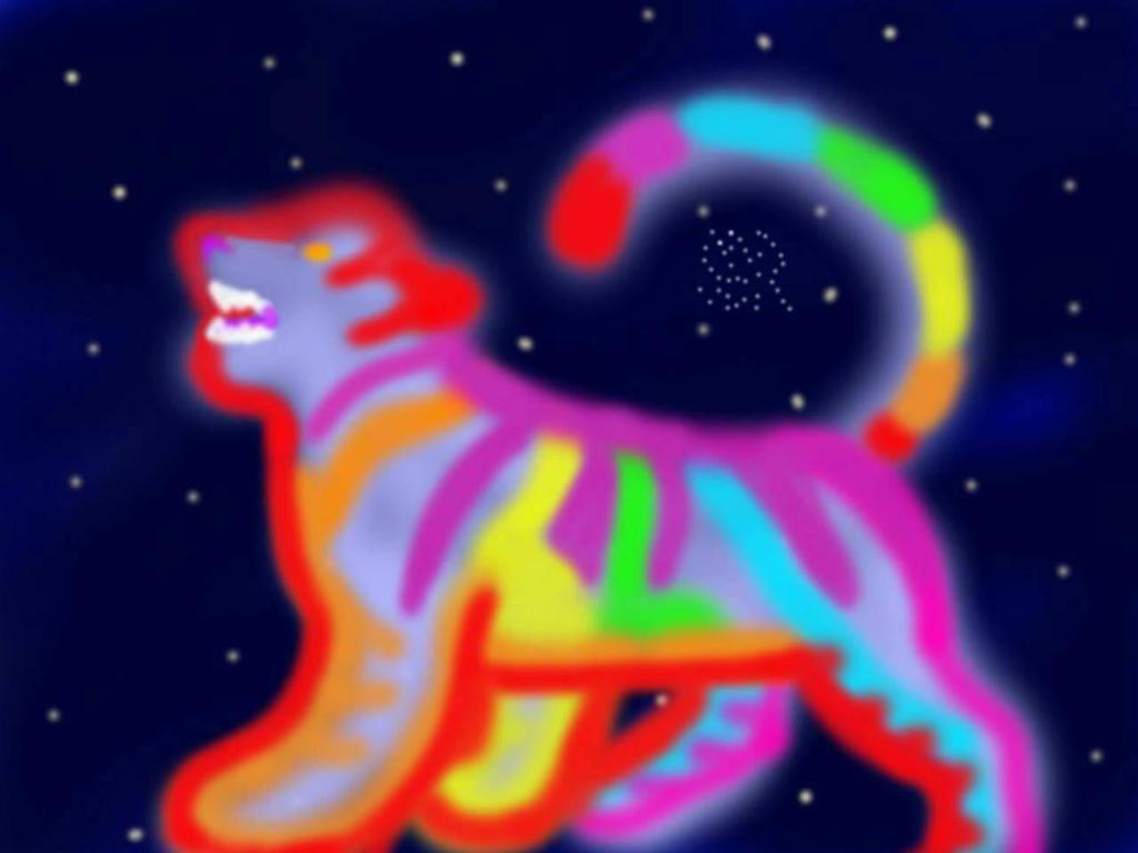 Cosmic Tiger by bree121149