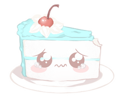 A cute little Sad Cake. by EmmyWithLove