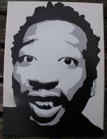 ODB Stenciled Canvas by CRONENZ
