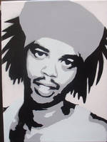 Antoine-Dodson Stenciled Canva by CRONENZ