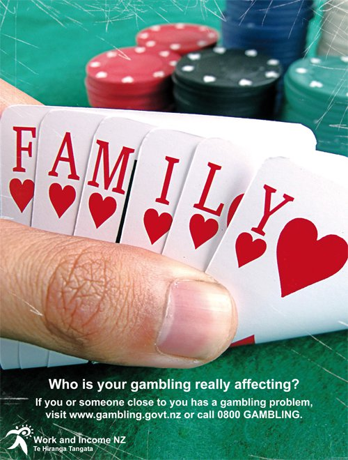 Gambling Campaign Poster by CRONENZ