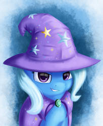 Trixie Horse by Qbellas