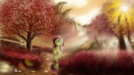 Alone Pone by Qbellas